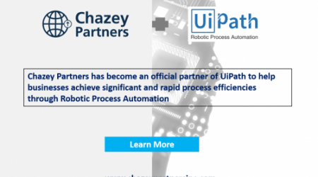 Chazey Partners partnering with UiPath